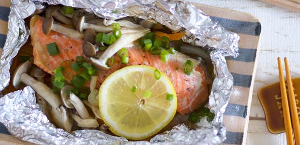 彼氏の疲れを取る栄養たっぷり! 魚のホイル焼きレシピ