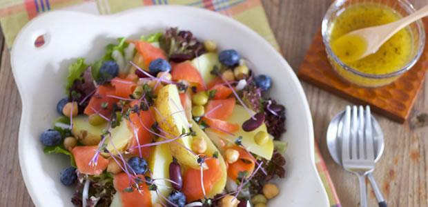 彼氏が野菜好きになる! 「新じゃがとサーモンのパワーサラダ」レシピ