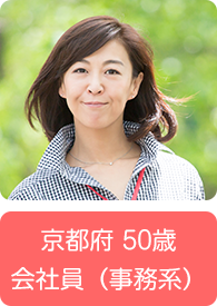 京都府 50歳 会社員(事務系)